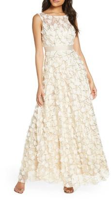 Brinker & Eliza 3D Floral Gown