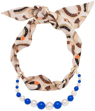 Miu Miu Mixed Jewels Necklace