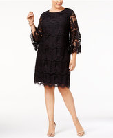 Charter Club Plus Size Lace Shift Dress, Created for Macy's