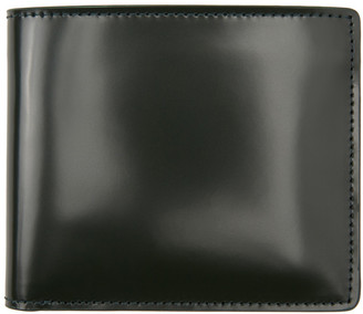 Maison Margiela Green Leather Bifold Wallet
