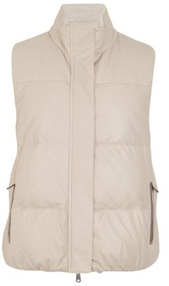 Brunello Cucinelli Reversible down vest