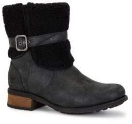 0676f6cf61f Blayre II Shearling Cuff Suede Boots