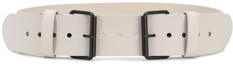 Nude Double Buckle Belt
