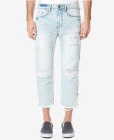 Buffalo David Bitton Men's Calf-Length Ripped Jeans