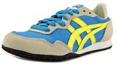 Onitsuka Tiger by Asics Serrano Women Round Toe Leather Blue Sneakers.