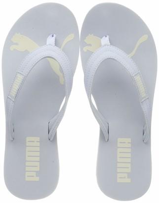 Puma Women's Cozy Flip WNS Beach & Pool Shoes Blue (Heather-Whisper White 01) 3