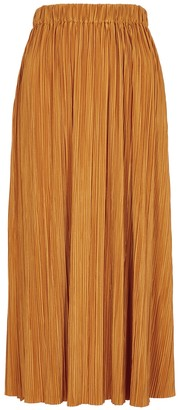 Samsoe & Samsoe Samse & Samse Uma Marigold Stretch-jersey Midi Skirt