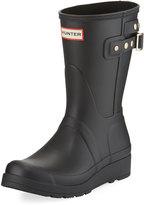 Hunter Original Short Wedge Rain Boot, Black