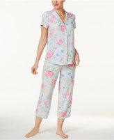 Miss Elaine Floral-Print Pajama Set