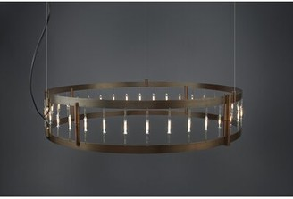Bruck Lighting Flight 39-Light Unique / Statement Drum Chandelier