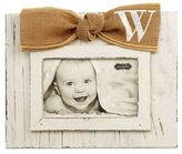 """Mud Pie Letter """"W"""" 4-Inch x 6-Inch Bow Picture Frame"""