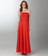 Max and Cleo Strapless Gown