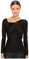 Vivienne Westwood Long Sleeve Priestess Top Women's Clothing