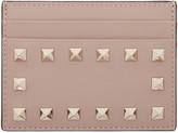 Valentino Pink Rockstud Card Holder