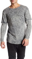 Kinetix Crew Neck Layered Sweatshirt