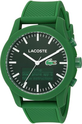 Lacoste Men's 2010883 12.12 - TECH Analog-Digital Display Quartz Green Watch