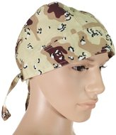 OWM Cap OWM Bandanas Cap Army Camouflage Head Wrap for Men