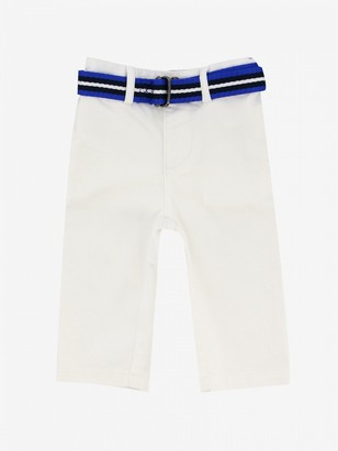 Polo Ralph Lauren Kid Trousers With Belt