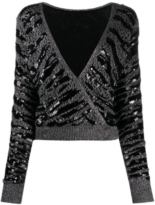 Twin-Set Lace Sequin Jumper