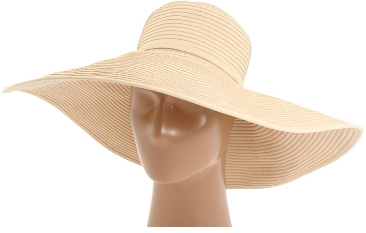 San Diego Hat Company RBXL202 Ribbon Braid XL Brim Hat (Beige) - Hats