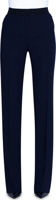 Akris Elastic-Waist Flared Pants