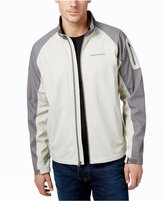 Hawke & Co. Outfitter Men's Big & Tall Lightweight Softshell Stand-Collar Jacket