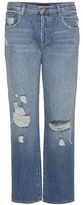 J Brand Ivy Distressed Boyfriend Jeans