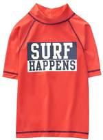 Crazy 8 Surf Happens Rash Guard