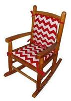 Babydoll Baby Doll Chevron Junior Rocking Chair Pad
