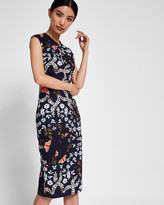 Ted Baker Kyoto Gardens bow neck dress