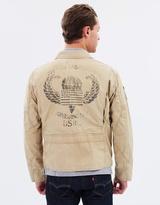 Polo Ralph Lauren Cotton Twill Flight Jacket