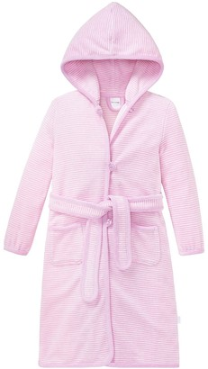 Schiesser Girl's Bademantel Dressing Gown Red (rosa) 3 Years (Manufacturer Size: 104)