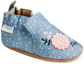 Robeez Soft Soles Chambray Bouquet Shoes, Baby Girls (0-24 months)
