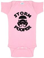 Decal Serpent Funny Baby Bodysuit Infant Storm Pooper Storm Trooper Star Wars Parody