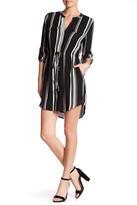 Daniel Rainn Striped Shirt Dress