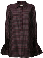 BY. Bonnie Young Striped Long Shirt