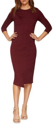 Oxford Kim Stud Detail Ponti Dress