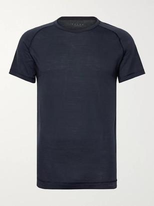 FALKE ERGONOMIC SPORT SYSTEM Wool And Silk-Blend Jersey T-Shirt