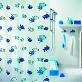 Spirella Switzerland :Spirella, Hugo Blue Shower Curtain