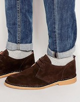 Selected Homme Royce Suede Desert Shoes