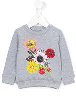 Stella McCartney floral print sweatshirt - kids - Cotton - 9 mth