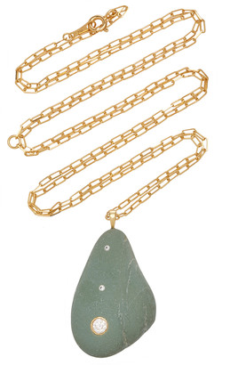 Cvc Stones Bohemia 18K Gold Diamond And Stone Necklace