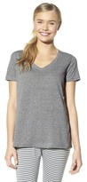 Xhilaration Jersey Knit Short Sleeve Sleep Top Primo Pink