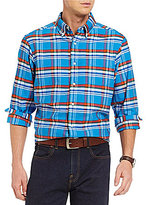 Daniel Cremieux Long-Sleeve Plaid Oxford Woven Shirt