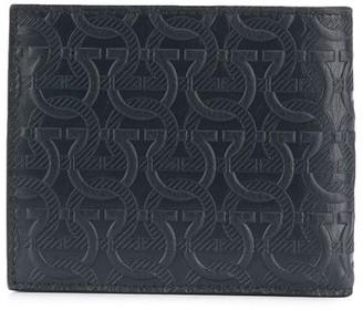 Salvatore Ferragamo embossed Gancini pattern wallet