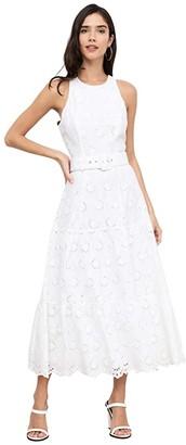Yumi Kim Take A Bow Maxi (Pixie Eyelet White) Women's Dress