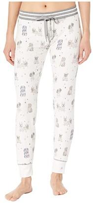 PJ Salvage Pawfection Jogger (Ivory) Women's Pajama