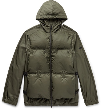 Craig Green Moncler Genius 5 Moncler Coolidge Colour-Block Quilted Shell Hooded Down Jacket