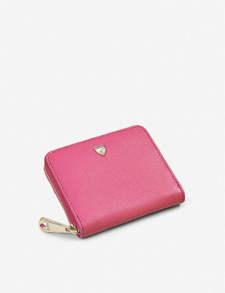 Aspinal of London Slim Mini Continental leather purse