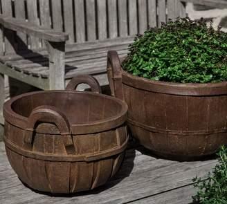 Pottery Barn Farmer's Market Basket Planter